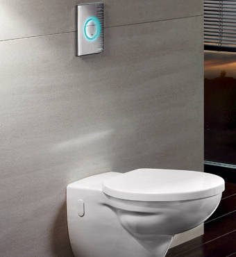 Nova Cosmopolitan Light WC wall plate