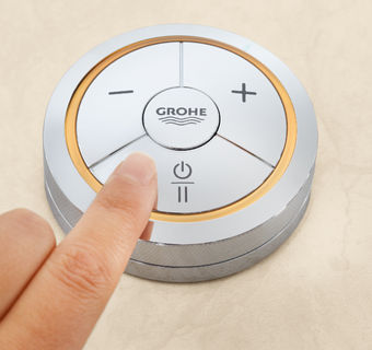 GROHE F-digital Puck Pannello di controllo digitale wireless per vasca o doccia