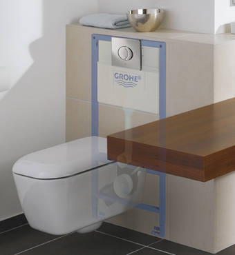 Adjustable Installation Frames for Comfort. GROHE   Bathrooms for the Elderly   Bathroom Solutions   For your