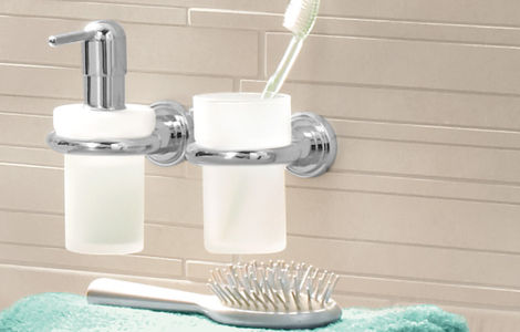 Atrio Two-hole basin mixer
