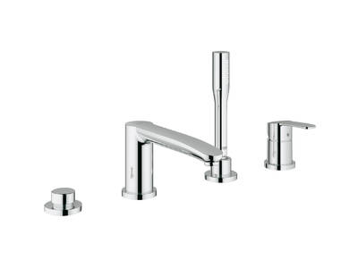 Eurostyle Cosmopolitan 4-hole single-lever bath combination