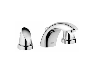 Aria 3-hole basin mixer