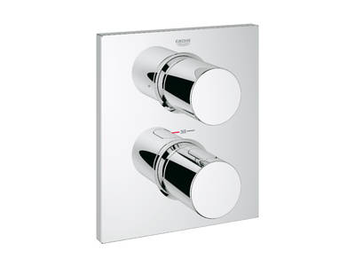 Grohtherm F Façade thermostatique avec inverseur 2 sorties