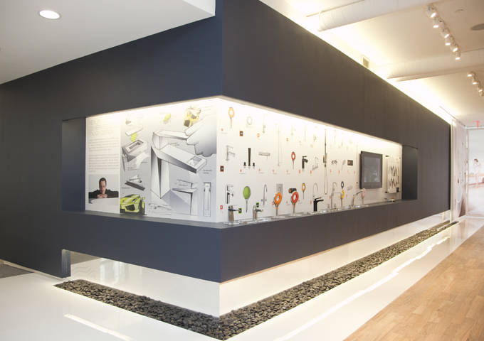 Grohe grohe live center about company for Showroom grohe barcelona