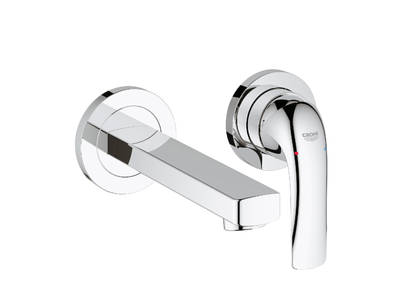 Baucurve Two - hole basin mixer