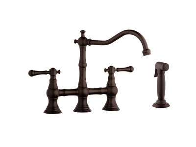 Bridgeford Bridgeford Bridge Faucet with Hose & Spray