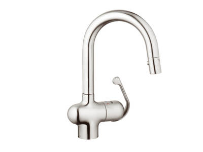 Ladylux Pro Prep Sink Dual Spray Pull Down