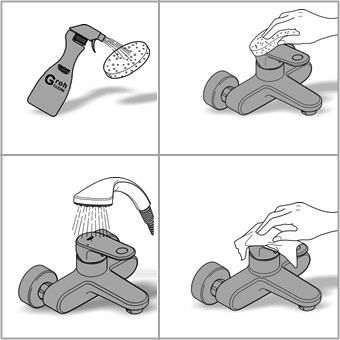Instructions for faucet care