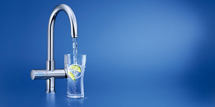 GROHE Blue® Chilled and Sparkling Starter kit