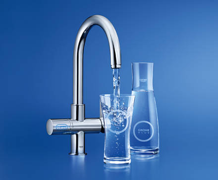GROHE Blue® Chilled and Sparkling Стартовый комплект