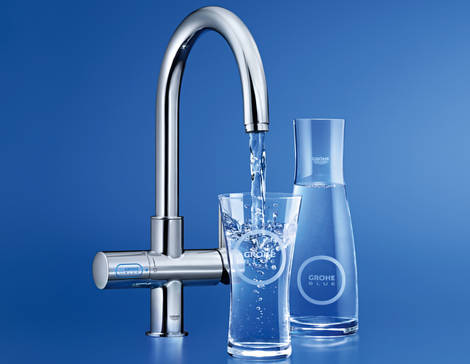 GROHE Blue® Chilled and Sparkling GROHE Blue Filtrada