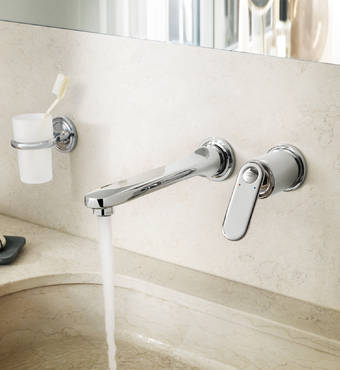 Veris F-digital 2-hole basin mixer