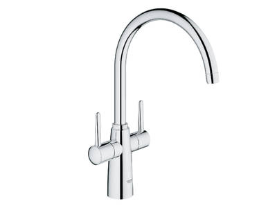 Ambi Contemporary 2 handle sink mixer