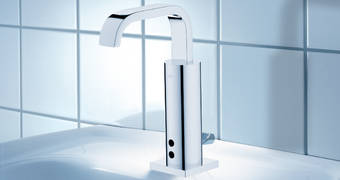 Allure E Infra-red electronic basin mixer