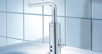 Essence Infra-red electronic basin mixer