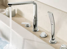 Veris 5-hole bath/shower combination