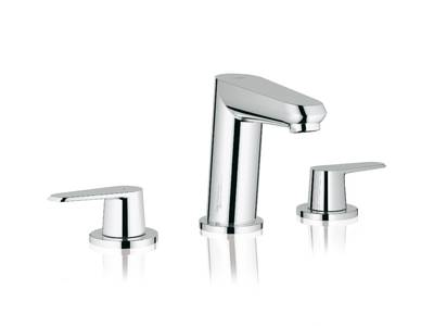 Eurodisc Cosmopolitan Three-hole basin mixer