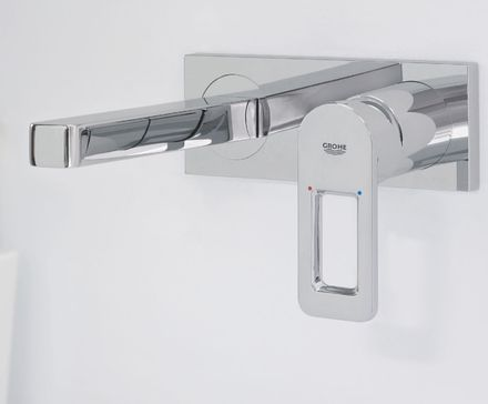 Quadra Two-hole basin mixer