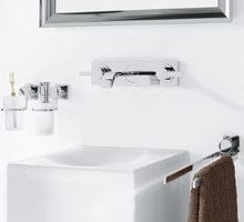 Allure 3-hole basin mixer