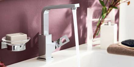 Eurocube Single-lever Basin mixer