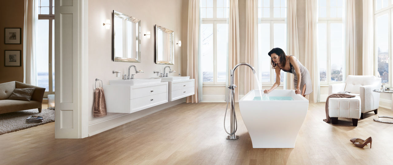 Cool Bath Shower Tile Designs Tall Bathroom Drawer Base Cabinets Flat Finland Steam Baths Quincy Mosaic Bathrooms Design Old Best Bathroom Tiles Design WhiteGray Bathroom Vanity Lowes GROHE   European Designed Kitchen Faucets, Bathroom Faucets \u0026amp; Showers