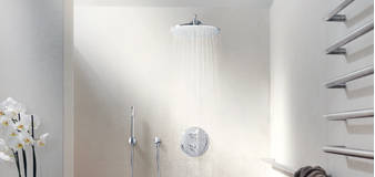 Atrio Thermostatic shower mixer