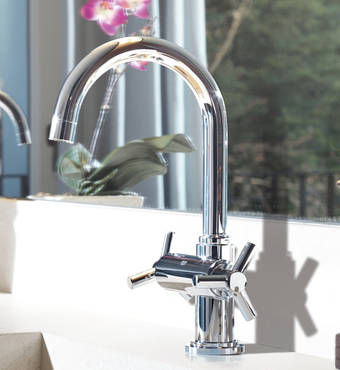 Atrio One-hole basin mixer