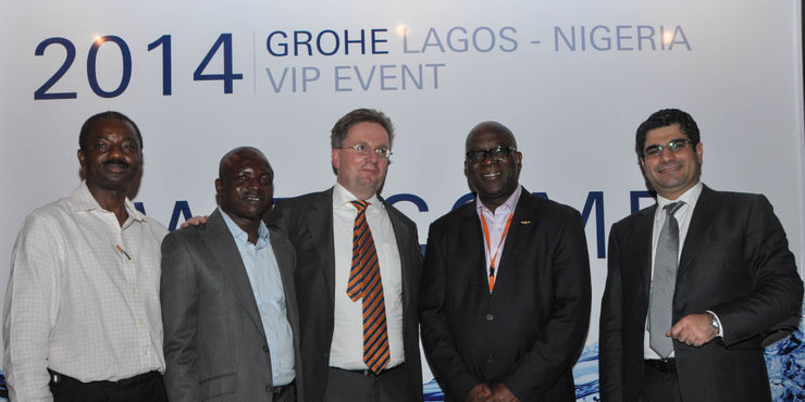 Grohe Hemer grohe event lagos nigeria actualité grohe découvrir grohe