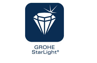 Grohe starlight chrome finish
