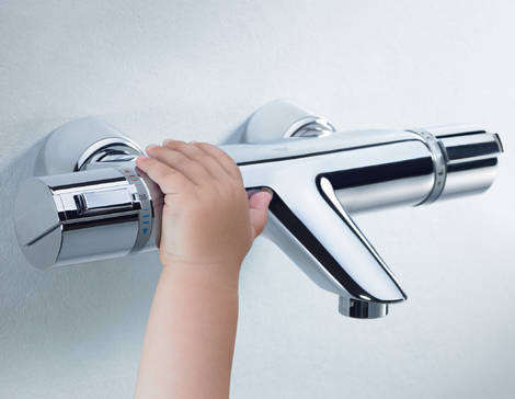 Grohtherm 2000 Thermostatic bath/shower mixer