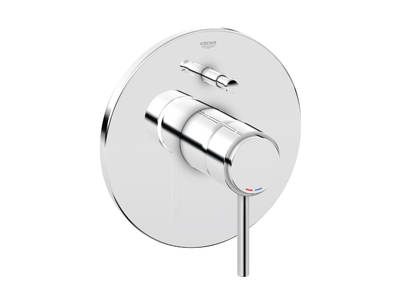 Atrio Jota & Ypsilon Single-lever bath/shower mixer trim