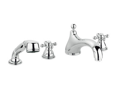 Sinfonia Four-hole bath combination