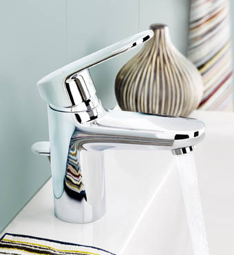 Europlus Single-lever basin mixer