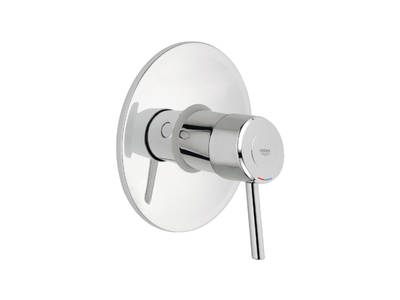 Concetto Single-lever shower mixer trim